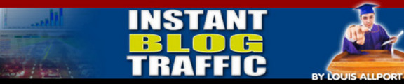 New Instant Blog Traffic ! Make Money with Blog