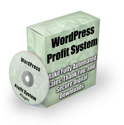 Product picture The WordPress Profit System Plugin